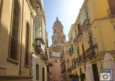 malaga-centro-calle-san-agustin-vistas-a-la-catedral