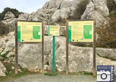 Torcal-de-Antequera-carteles-ruta-verde-y-amarilla